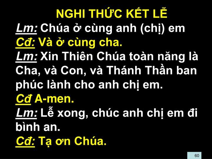 NGHI THC KT L