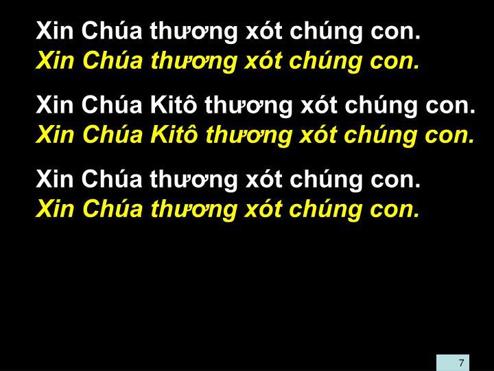 Xin Cha thng xt chng con.