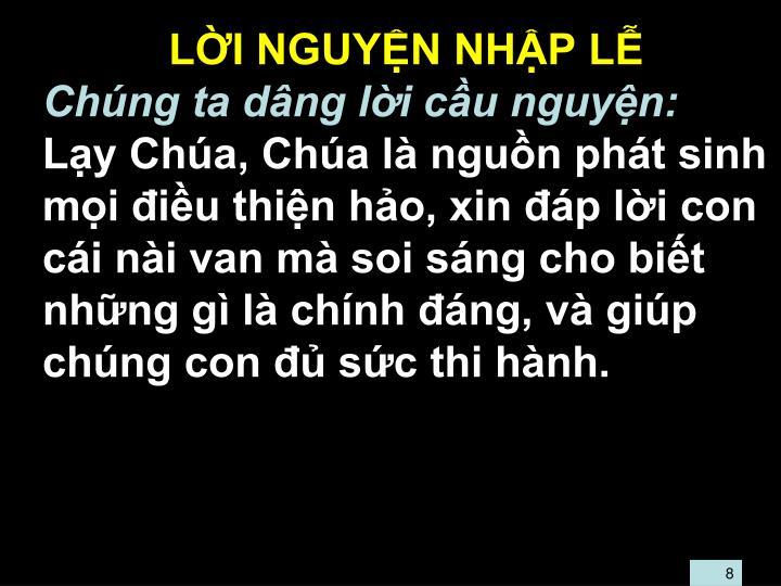 LI NGUYN NHP L