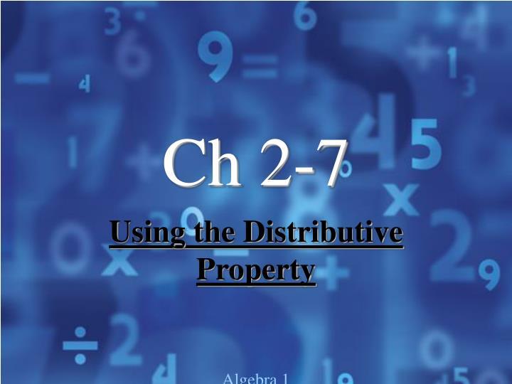 Ch 2-7