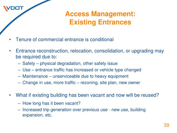 Access Management: