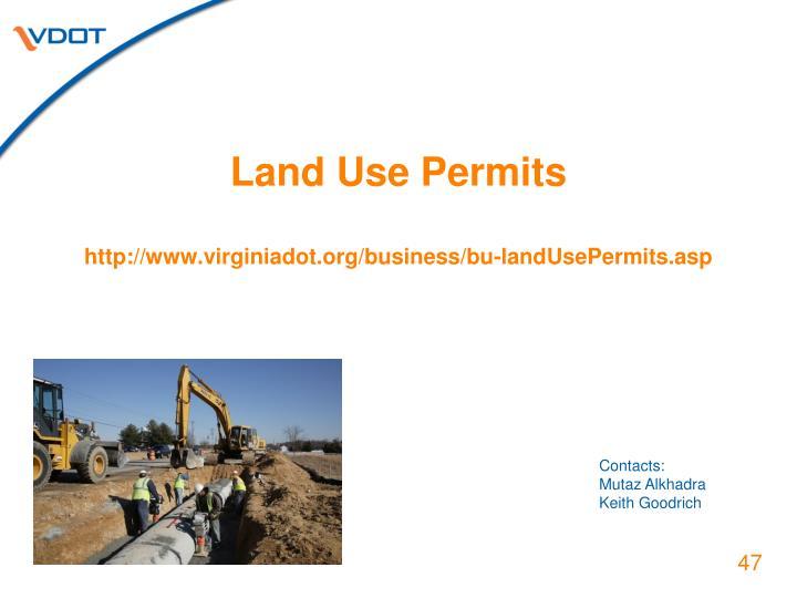 Land Use Permits