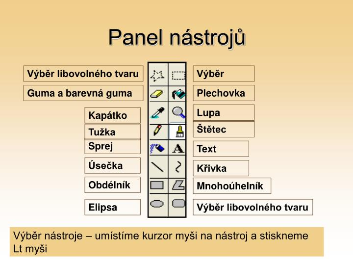 Panel nástrojů