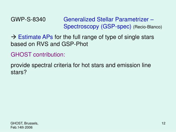 GWP-S-8340