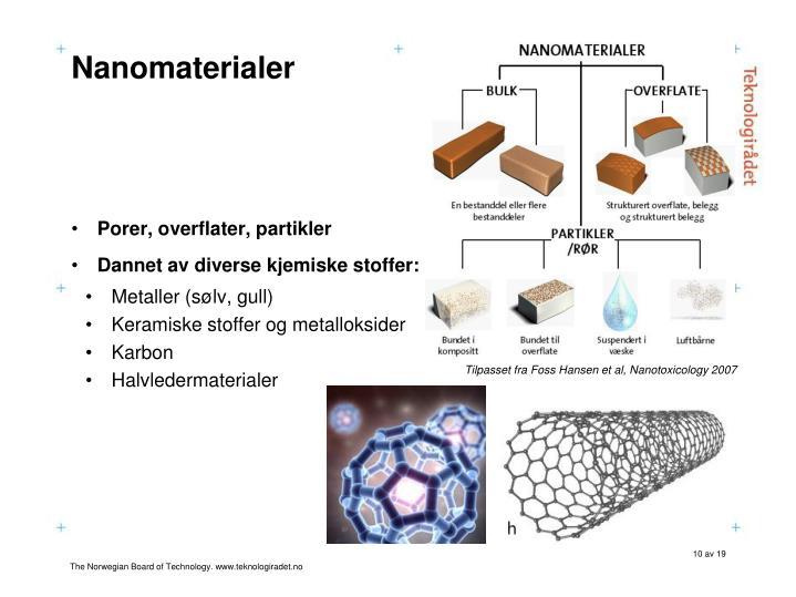 Nanomaterialer
