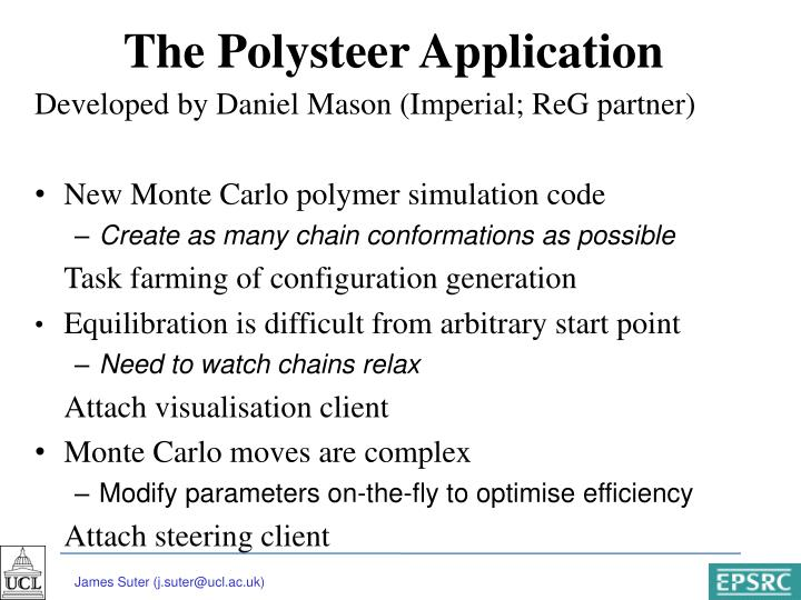 The Polysteer Application