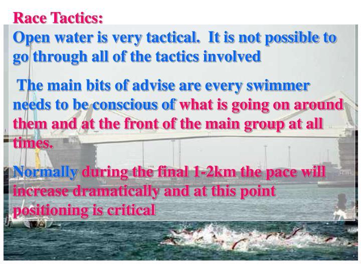 Race Tactics: