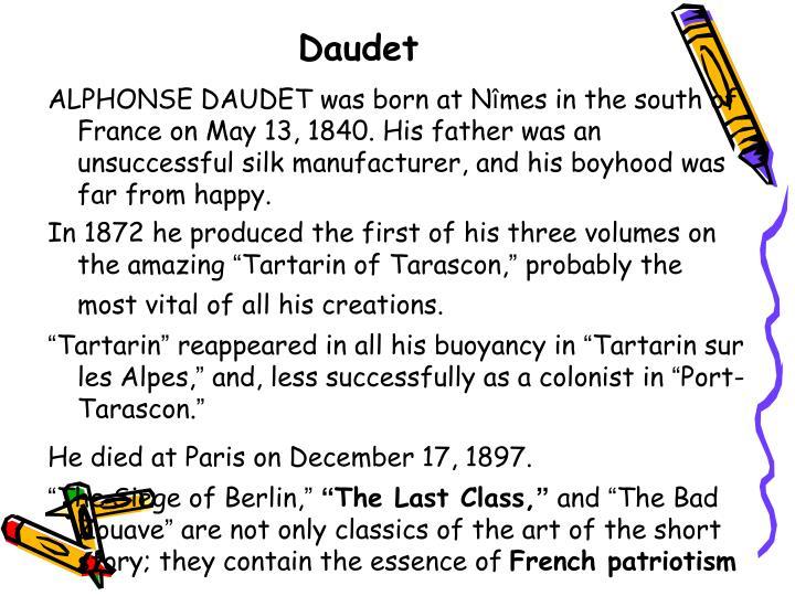Daudet