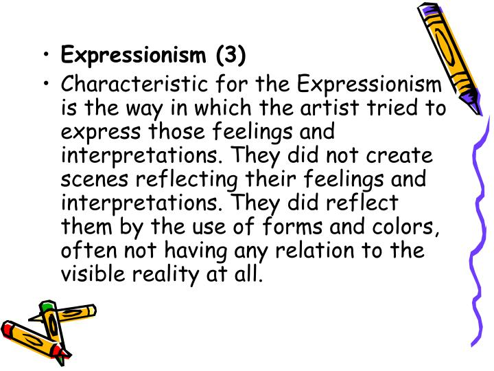 Expressionism (3)