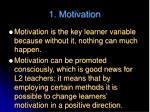 1 motivation