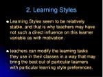 2 learning styles1