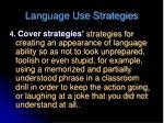 language use strategies2