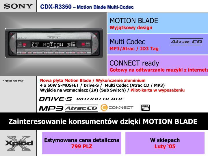 CDX-R3350