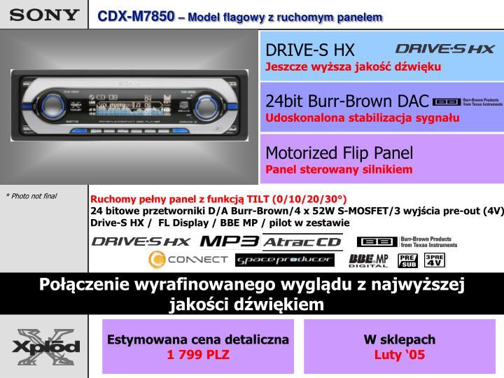 CDX-M7850