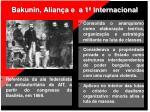 bakunin alian a e a 1 internacional