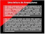 uma leitura do anarquismo