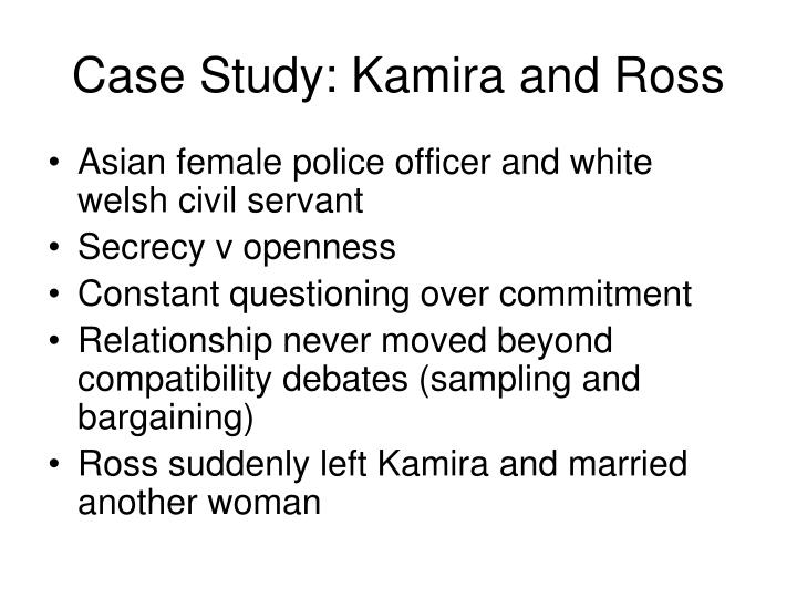 Case Study: Kamira and Ross