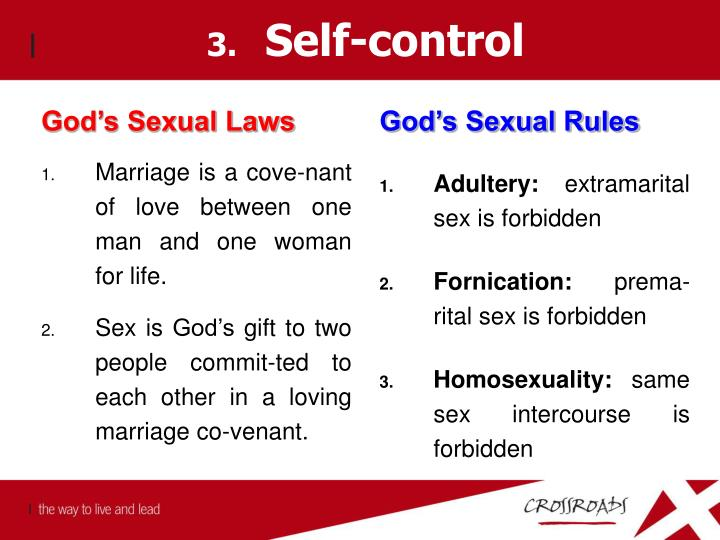 God's Sexual Laws