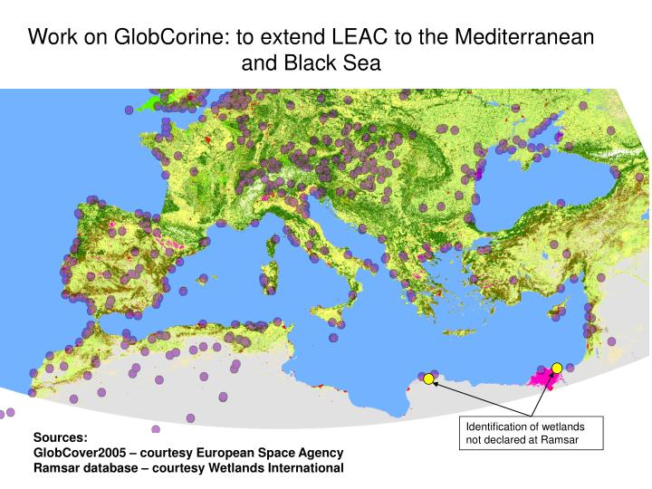 Identification of wetlands not declared at Ramsar