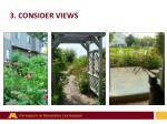3 consider views