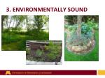3 environmentally sound