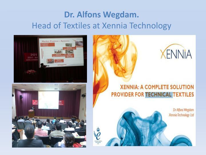 Dr. Alfons Wegdam.