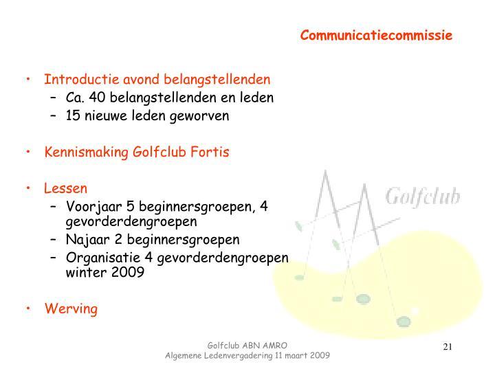 Communicatiecommissie