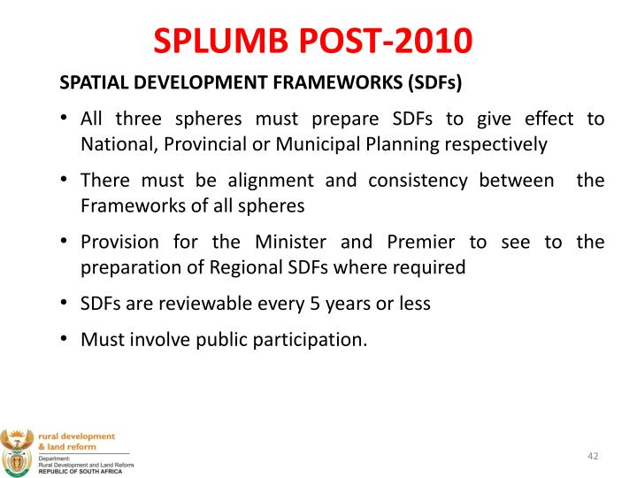 SPLUMB POST-2010