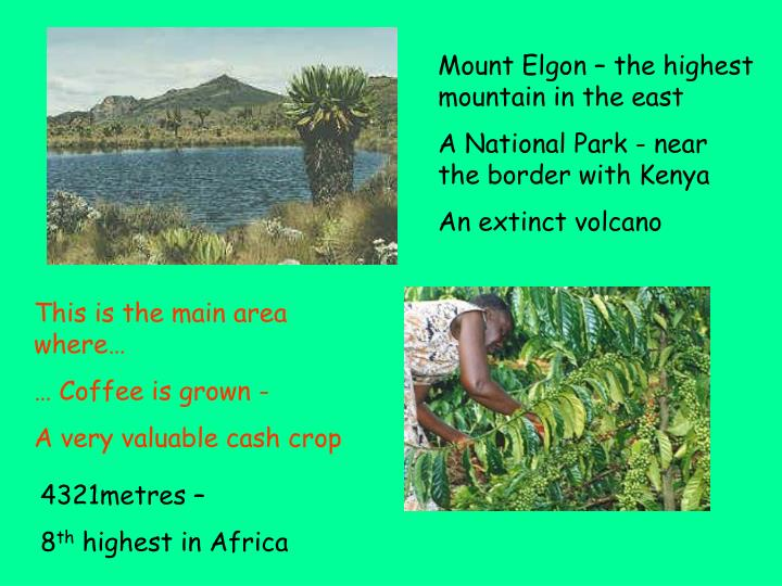 Mount Elgon – the highest mountain in the east