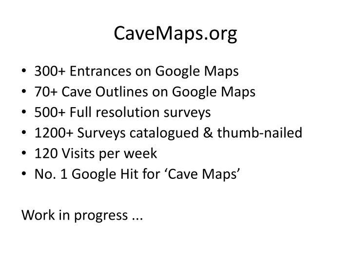 CaveMaps.org
