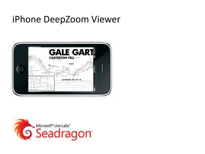 iPhone DeepZoom Viewer