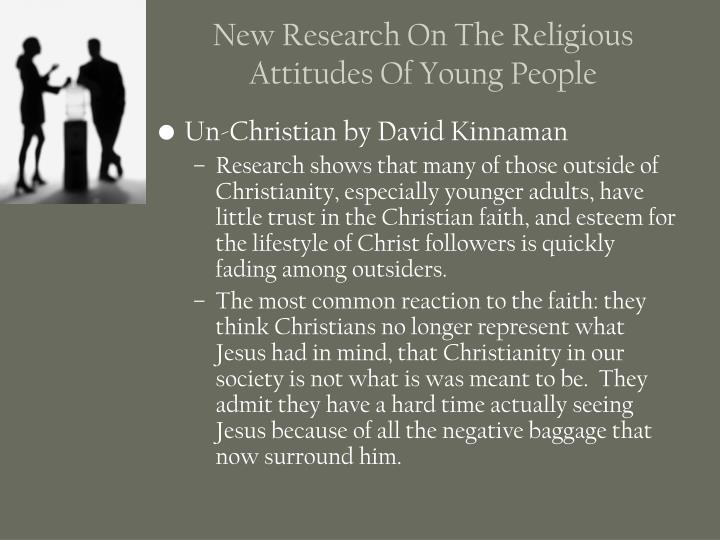 New Research On The Religious Attitudes Of Young People