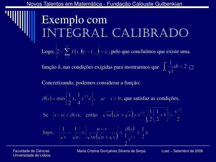 Exemplo com