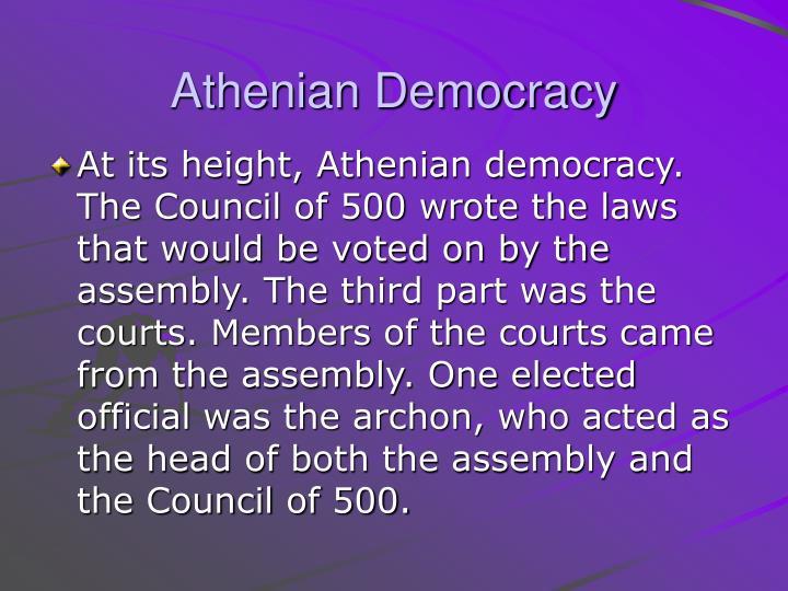 Athenian Democracy