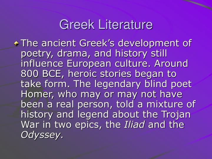 Greek Literature