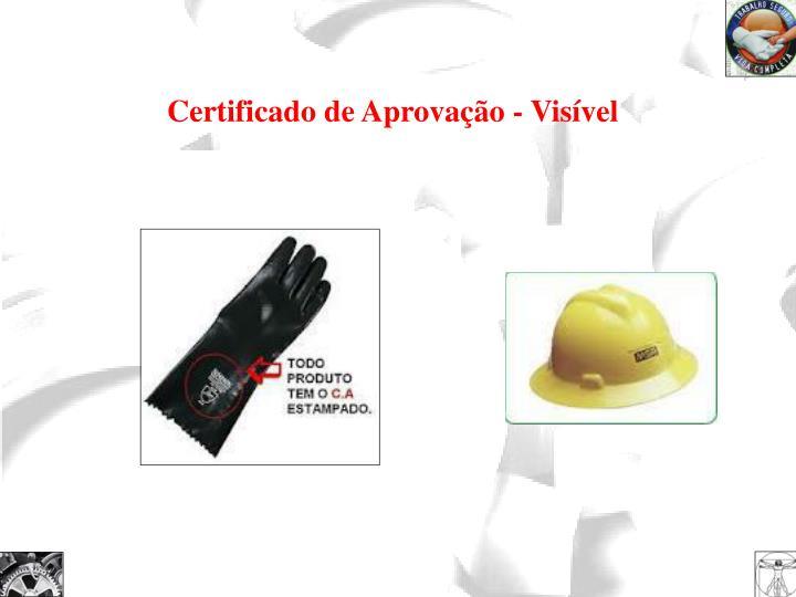 Certificado de Aprovação - Visível