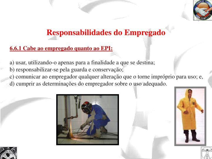 Responsabilidades do Empregado