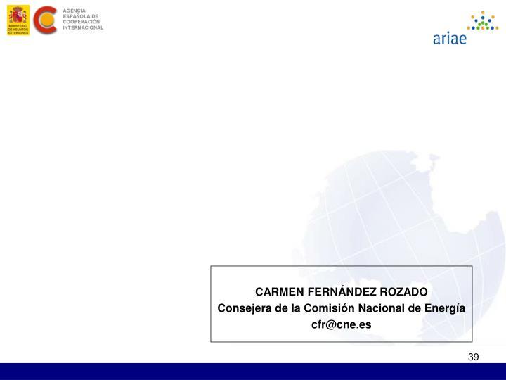 CARMEN FERNÁNDEZ ROZADO