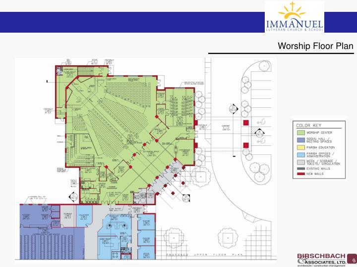 Worship Floor Plan