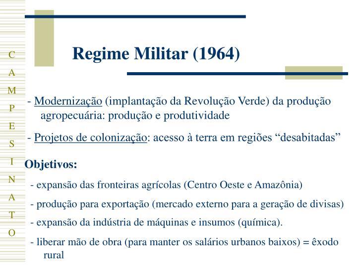 Regime Militar (1964)