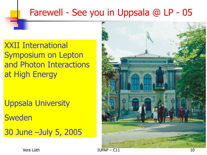 Farewell - See you in Uppsala @ LP - 05
