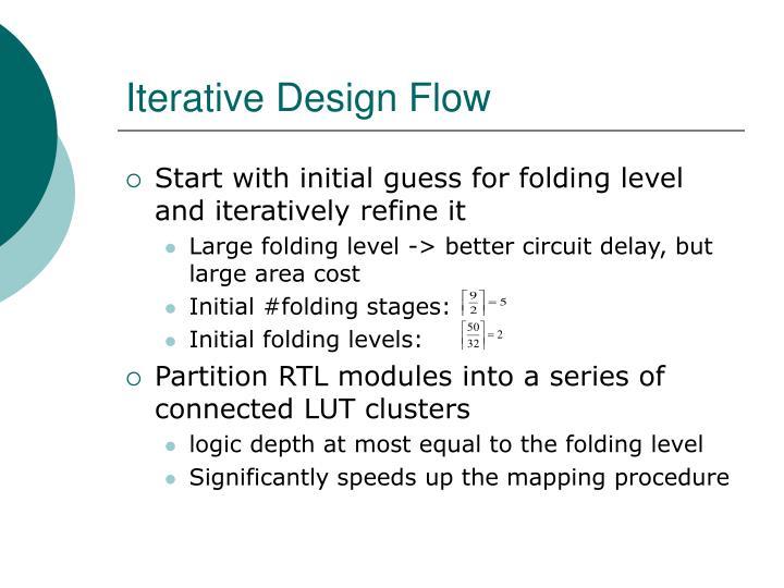 Iterative Design Flow