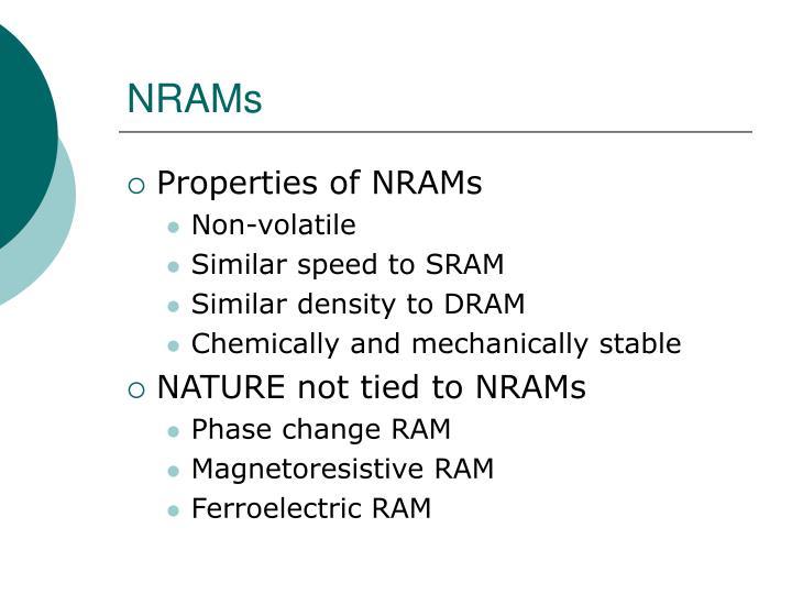 NRAMs