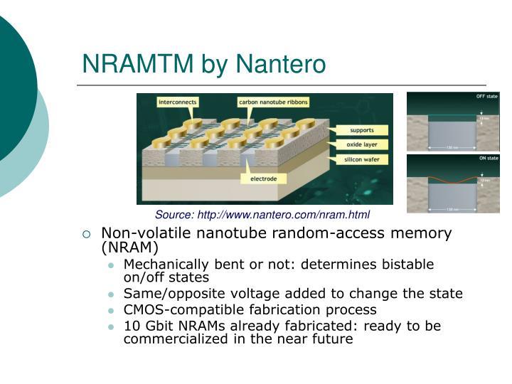 NRAMTM by Nantero