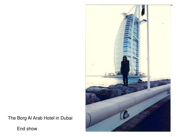 The Borg Al Arab Hotel in Dubai