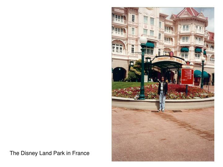 The Disney Land Park in France