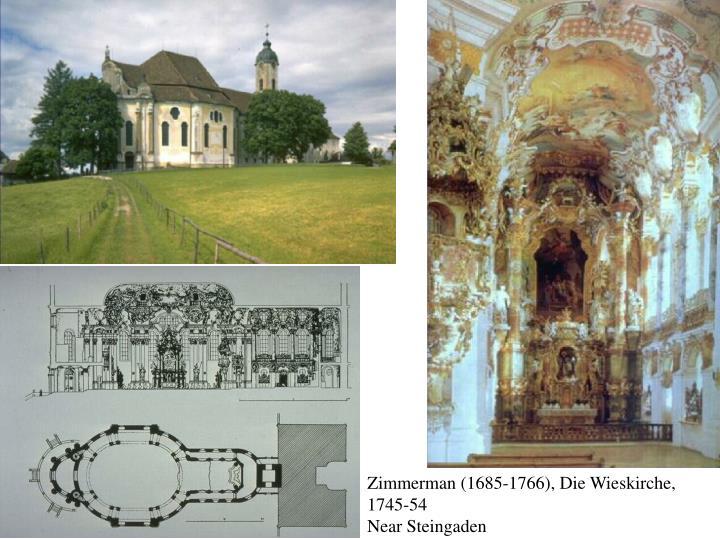 Zimmerman (1685-1766), Die Wieskirche, 1745-54