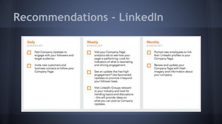 Recommendations - LinkedIn