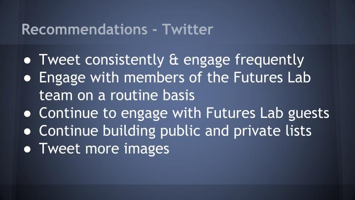Recommendations - Twitter