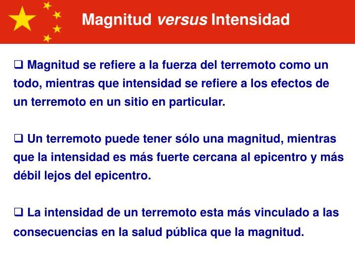 Magnitud